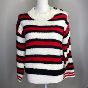 BP. Nordstrom Caitlyn Striped Sweater XXS